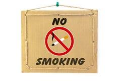 Inget - röka Arkivfoton