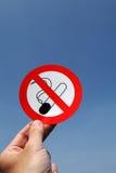Inget - röka Fotografering för Bildbyråer