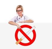 Inget - röka begrepp Royaltyfri Foto