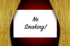Inget - röka etappen Arkivbild