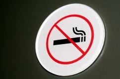 Inget - röka tecknet och symbol Royaltyfria Bilder