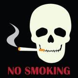 Inget - röka tecknet Royaltyfria Bilder