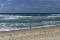 Inget simningvarningstecken fotografering för bildbyråer