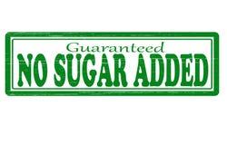 Inget tillfogat socker Fotografering för Bildbyråer