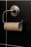 Inget toalettpapper arkivbilder