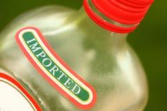 Ingevoerde alcohol Royalty-vrije Stock Foto's