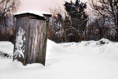Ingewijd toilet openlucht Stock Foto