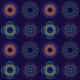 Ingewikkeld CirkelPatroon Stock Afbeelding