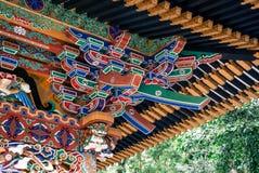 Ingewikkeld detail van het Zuihoden-mausoleum Stock Afbeelding