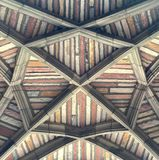 Ingewikkeld Plafondmetselwerk Royalty-vrije Stock Fotografie