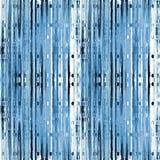 Ingewikkeld strepenpatroon met ellipsen blauwe grijs-witte zwarte verticaal Stock Fotografie