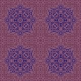 Ingewikkelde biomorphic symmetrie stock illustratie