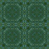 Ingewikkelde biomorphic symmetrie royalty-vrije illustratie