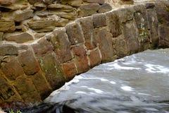 Ingewikkelde details in het steenwerk Royalty-vrije Stock Foto