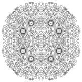 Ingewikkelde Mandala Stock Fotografie