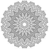 Ingewikkelde Mandala Stock Afbeeldingen