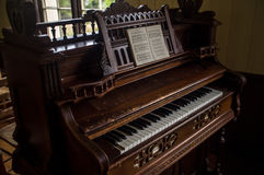 Ingewikkelde Piano royalty-vrije stock afbeelding