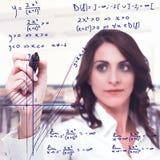 Ingewikkelde wiskundige functie royalty-vrije stock afbeelding