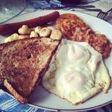 Inglês del manhã di Café da Immagini Stock