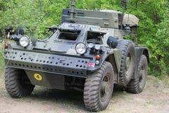 Inglés del vehículo de reconocimiento de la guerra Foto de archivo