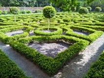 Inglés Tudor Knot Garden Fotos de archivo