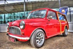 Inglês clássico Morris Mini Minor dos anos 60 Imagem de Stock