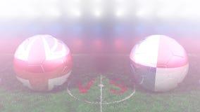 Inglaterra contra Panamá, mundial 2018 de la FIFA Vídeo original 3D