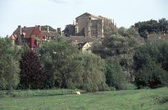 Inglaterra, Cotswolds, abadía de Malmesbury Fotos de archivo