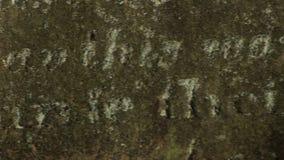 Inglaterra de escrita de pedra grave filme