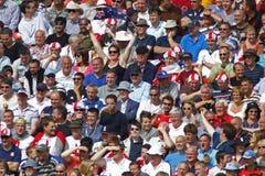 Inglaterra 2012 v Austrália 4o um international do dia Foto de Stock