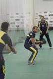 Inglaterra 2012 v Australia 4tas sesiones netas internacionales de un día Fotos de archivo