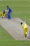 Inglaterra 2012 v Australia 4to un international del día Imagen de archivo libre de regalías