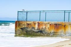 Ingle costera de la protección Imagen de archivo libre de regalías