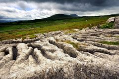 Ingleborough Stock Images