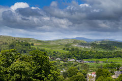 Ingleborough from Ribblesdale Royalty Free Stock Image