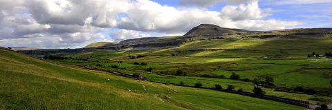 Ingleborough Stock Image