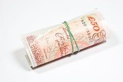 Ingleses el dinero de la libra esterlina Imagen de archivo
