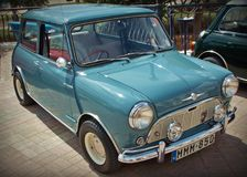 Ingleses Morris Mini Minor Car Imagem de Stock