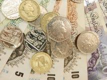 Ingleses Sterling Pounds Imagem de Stock