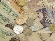 Ingleses Sterling Pounds Foto de Stock
