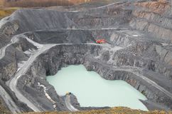 Ingleton quarry Stock Photography