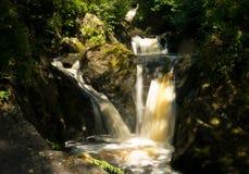 Ingleton Waterfall stock image