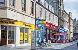 Inglisstraat, Inverness Royalty-vrije Stock Afbeelding