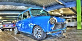 Inglês clássico Morris Mini Minor Fotografia de Stock