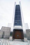 Ingång av Sts Mary domkyrka i Tokyo Fotografering för Bildbyråer