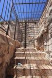 Ingångsvallar går den Damascus porten Royaltyfria Bilder