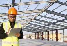 Ingénieur de construction Images libres de droits