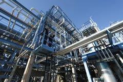 Ingénieurs, essence et pétrole Photo stock