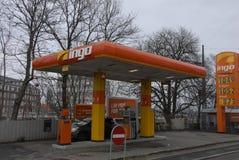 INGO GAS STATION Royalty Free Stock Images