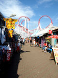 Ingoldmells market, Skegness. Royalty Free Stock Images